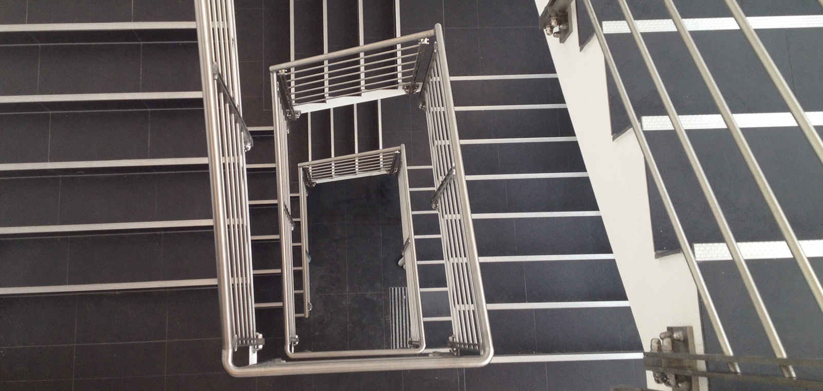 Treppen aus Edelstahl