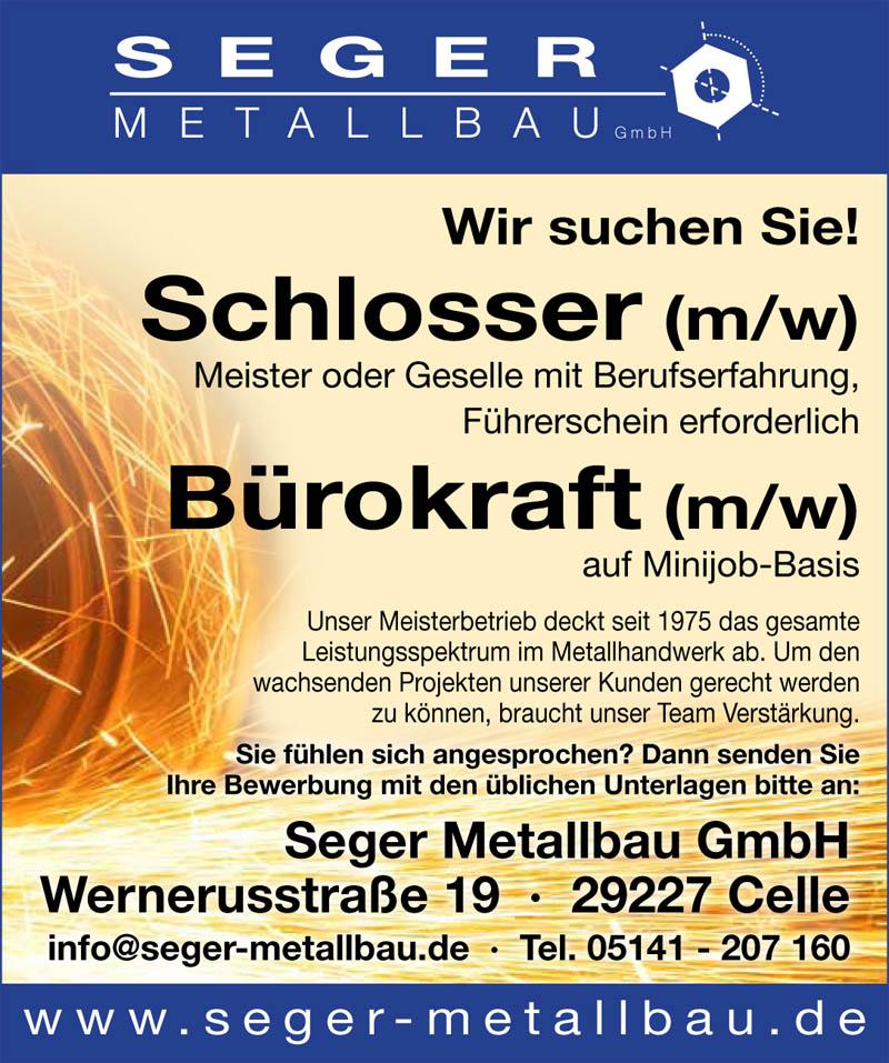 Seger-Stellenanzeige2014